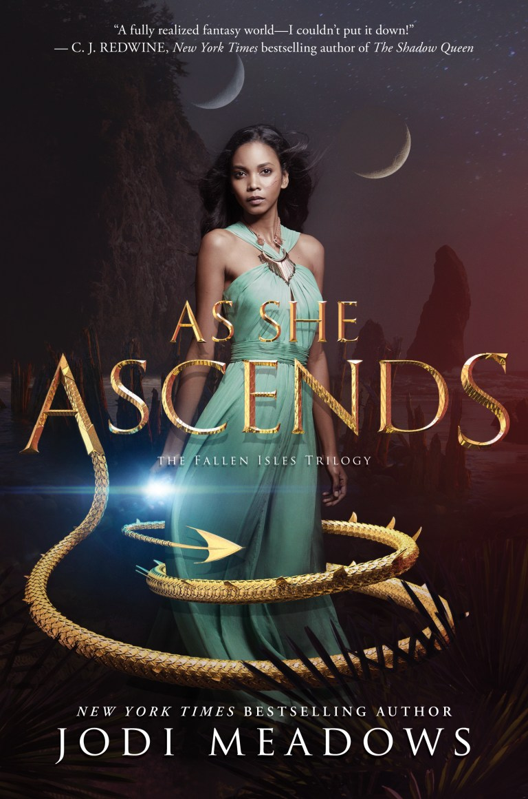 As She Ascends (Fallen Isles, #2)