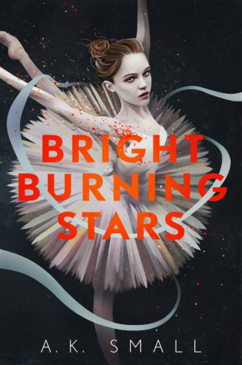 Cover Crush: Bright Burning Stars by A.K. Small