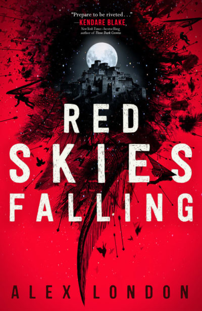 Books On Our Radar: Red Skies Falling by Alex London