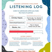 Feature: Summer Listening Challenge with Libro.FM