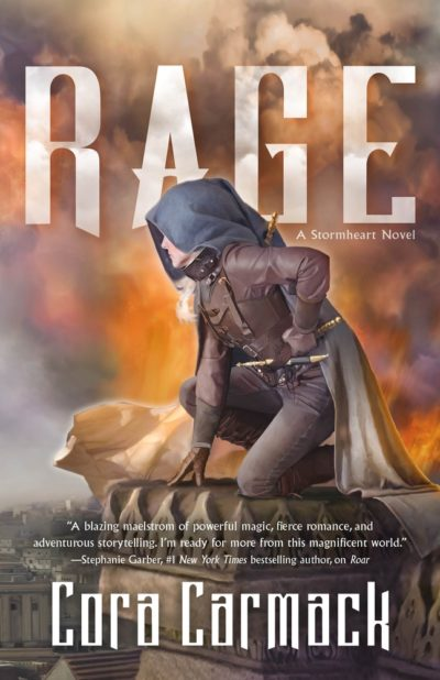 New Release Blitz & Giveaway: Rage (Stormheart #2) by Cora Carmack