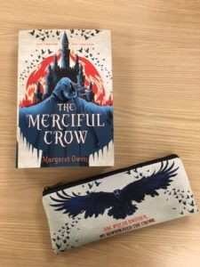 Merciful Crow Book & Zipper Pouch