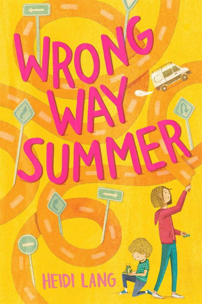 Cover Crush: Wrong Way Summer by Heidi Lang