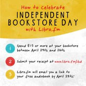 Feature: Celebrate Independent Bookstore Day with a Free Audiobook