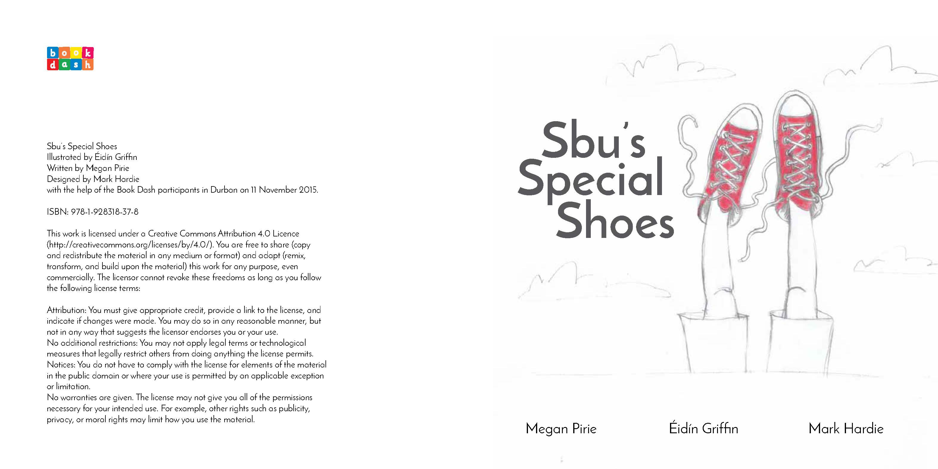 Sbu's Special Shoes by Éidín Griffin, Mark Hardie and
