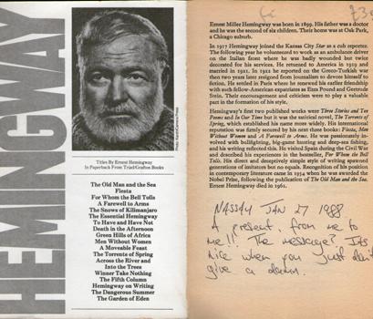 Winner Take Nothing by Ernest Hemingway 2