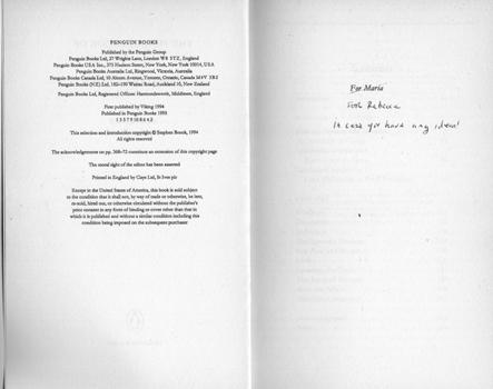 The Penguin Book of Infidelities edited by Stephen Brook