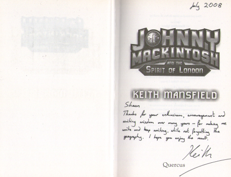 Johnny Mackintosh And The Spirit of London by Keith Mansfield