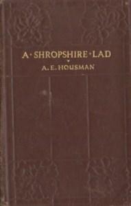 A Shropshire Lad by A.E. Housman 6