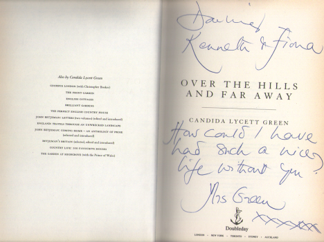 Over the Hills & Far Away by Candida Lycett Green