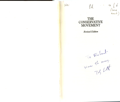 The Conservative Movement by Paul Gottfried