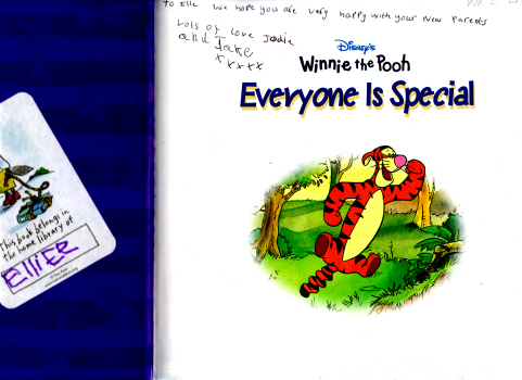Winnie the Pooh - Everyone is Special by Nancy Parent (Based on stories by A.A.Milne)