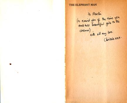 The Elephant Man by Christine Sparks