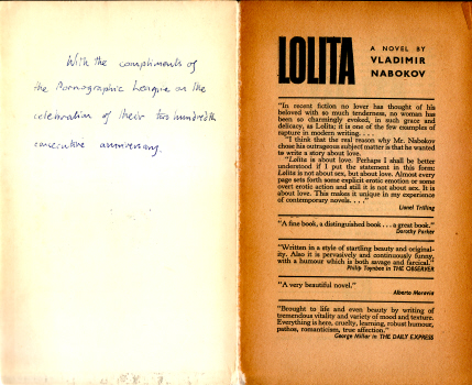 Lolita by Vladimir Nabokov 6