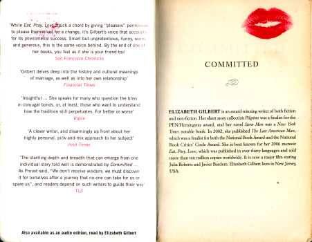 Committed by Elizabeth Gilbert 3