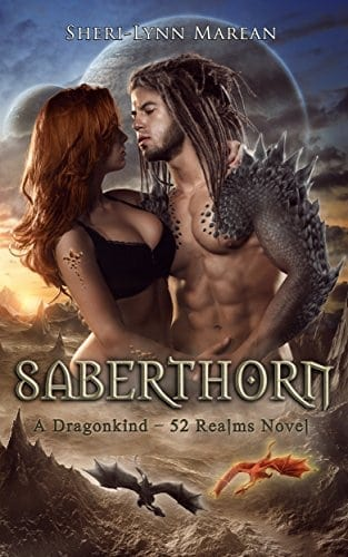 Saberthorn: A Paranormal/Fantasy Dragonshifter Romance (Dragonkind ~ 52 Realms Book 1)