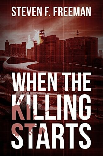 When the Killing Starts (The Blackwell Files Book 8)