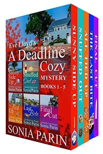 Eve Lloyd's A Deadline Cozy Mystery – Books 1 to 5