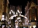 Carnaby Street by night.