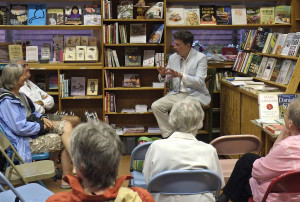 Author Thomas Hauck at Toad Hall Bookstore