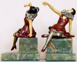 Photo of German Cabaret Dancer Bookends