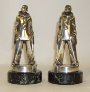 Photo of Pierrot bookends