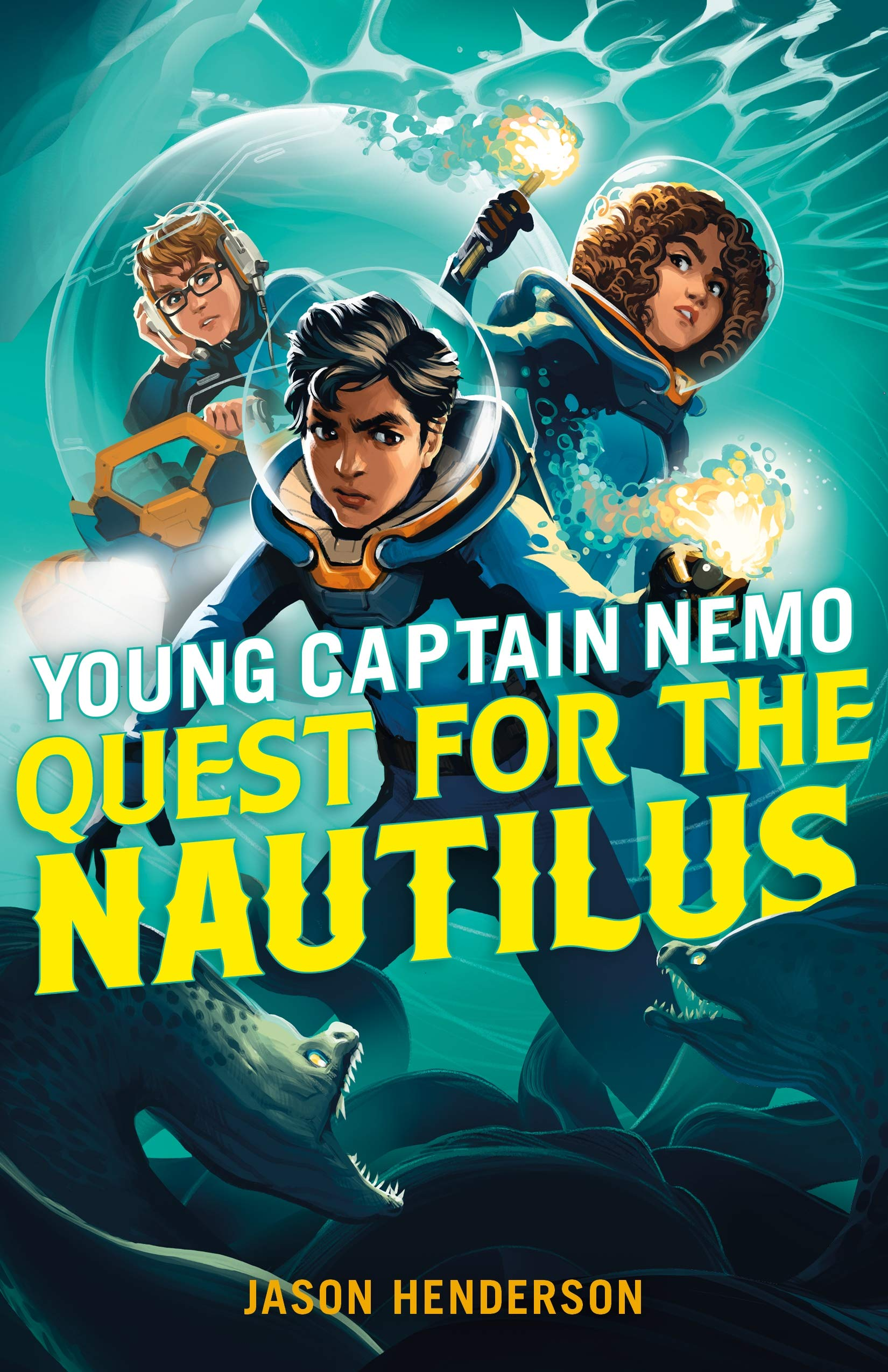 Young Captain Nemo: Quest for the Nautilus by Jason Henderson