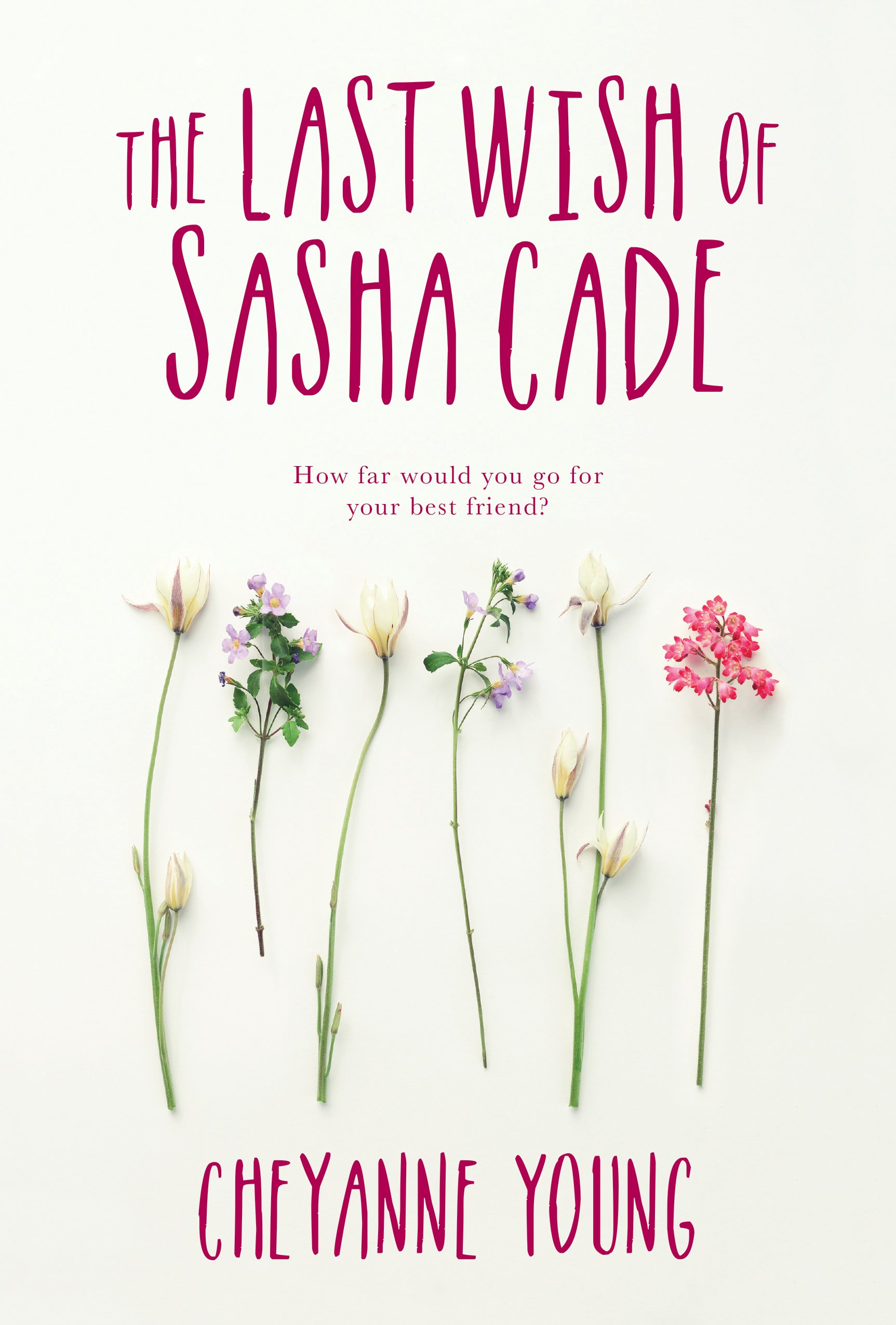 The Last Wist of Sasha Cade by Cheyanne Young