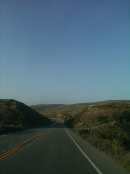 Open Road on Highway 1