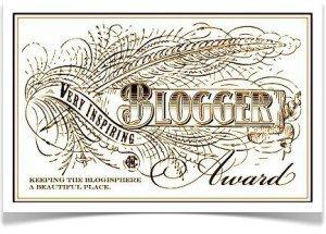 Inspiring Blogger Award - BookerTalk
