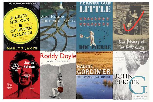 7 Booker titles