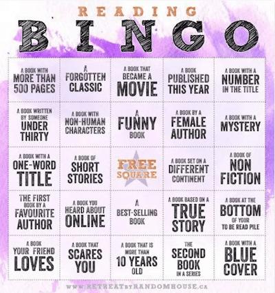 Book bingo 2017
