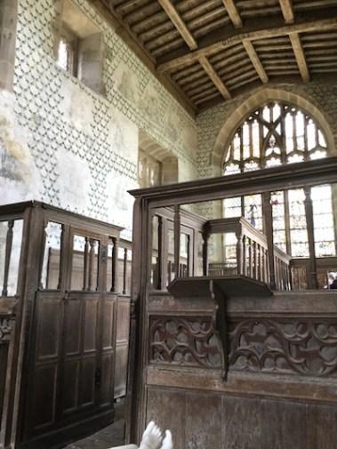 Haddon Hall chapel