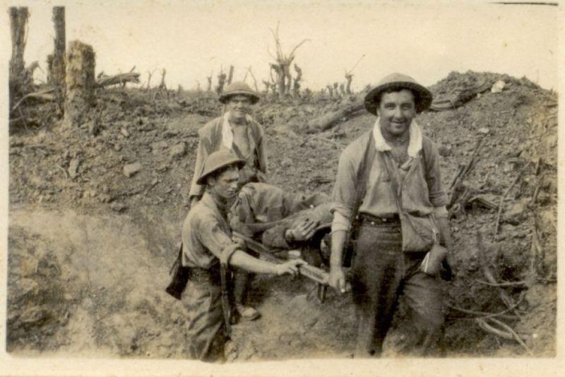 australian stretcher bearers
