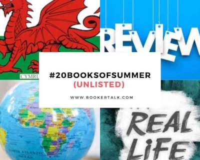 Categories of books in the #20booksofsummer reading project