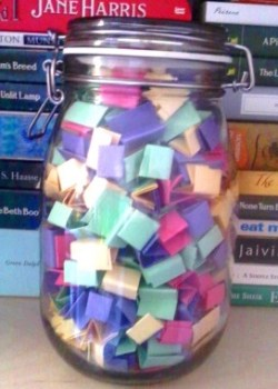 The Book Jar is one way to help answer the question: What to read next