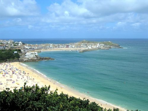 St Ives, setting of Notes from An Exhibition by Patrick Gale