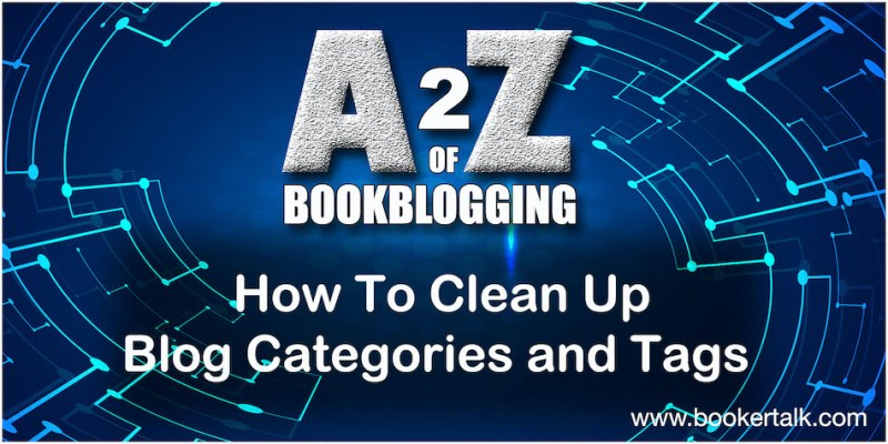 Book blog tips: cleaning up categories and tags