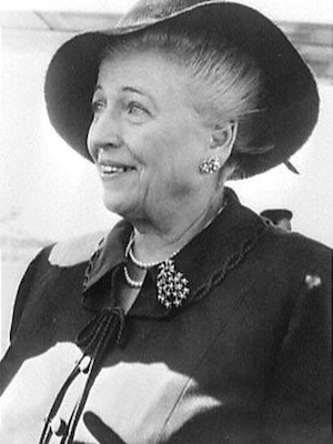 Pearl Buck, author of The Good Earth