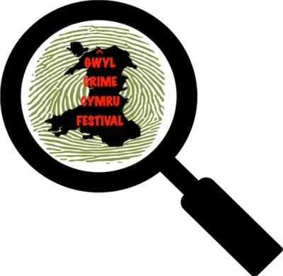 Logo of the first crime fiction festival to be held in Wales
