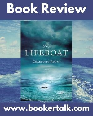 Cover image of The Lifeboat, a tense novel about survival after a liner explodes
