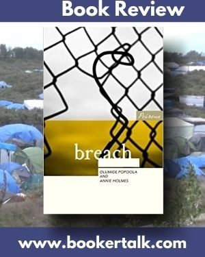 Cover of Breach, a collection of short stories about the refugees and volunteers at the Jungle camp in Calais.