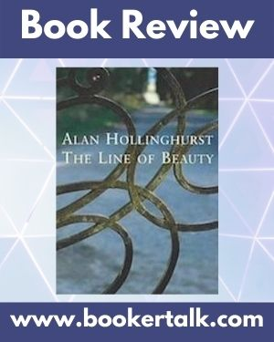 Cover of The Line Of Beauty, the 2004 Booker winning novel by Alun Hollinghurst.