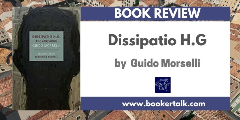 Cover of Dissipation H.G a post apocalyptic novella by the Italian author Guido Morselli