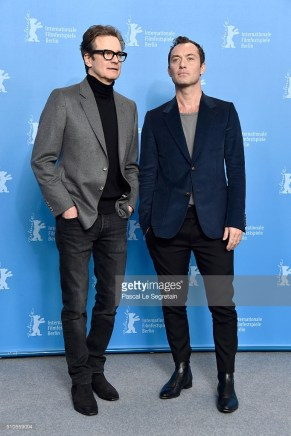 the 'Genius' photo call during the 66th Berlinale International Film Festival Berlin at Grand Hyatt Hotel on February 16, 2016 in Berlin, Germany.