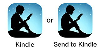 Send To Kindle sharing changed the app icon to just kindle in iOS 13