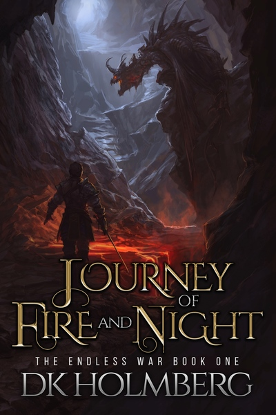 Journey of Fire and Night by DK Holmberg
