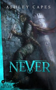 Never (Prequel to The Amber Isle) by Ashley Capes