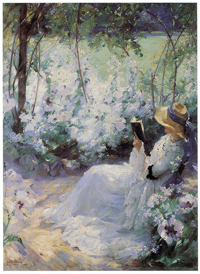 Delicious Solitude (1909). Frank Bramley (British, 1857–1915). Oil on canvas.