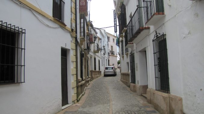 Narrow Streets in Rhonda Spain